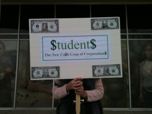 students as money