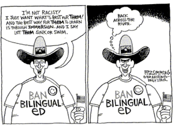 Ban bilingual education
